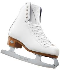 Riedell Figure Skate Size Chart Riedell 29 Edge Girls White Figure Skates
