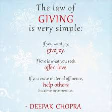 Giving Of Yourself Quotes Best Of The Law Of Giving And Receiving