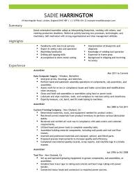assembly line worker resume make resume find