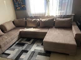Wohnlandschaft Couch Sitzgarnitur