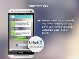 Resume App Impressive Resume App Canreklonecco