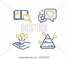 Online Star Chart Heart Search Book Vector Photo Free Trial Bigstock