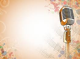 background music. Plain Music Background Music School Singing Contest Printing To Music