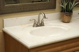 cultured marble bathroom oval model countertops refinishing