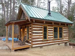 woodscapers-building-cabin Build a cabin for under 4000