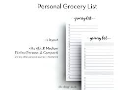 grocery list example template grocery list organizer template zoom templates in c