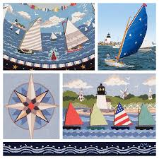 claire murray cat boats hand hooked rugs