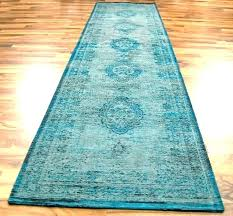 turquoise and brown rug runner teal yellow lovely blue magnificent tu