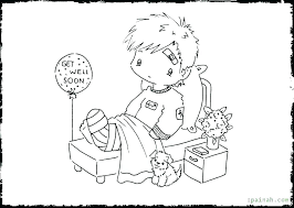 Get Well Printable Coloring Pages Get Well Soon Printable Coloring