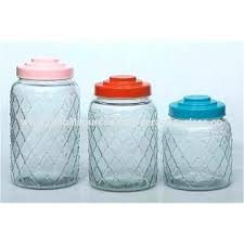 large glass storage container china bottles jars with lid capacity honey candy jar kitchen food containers large glass storage