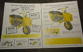 manuals 15 trainers4me vintage polaris snowmobile trail tractor s brochure model 600 atv
