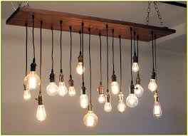 terrific chandelier with edison bulbs edison bulb chandelier light hinging bulbs white wall