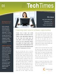 Open Office Newsletter Template Email Newsletter Design Newsletter Templates Ready Made
