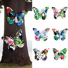 Give your outdoor space a makeover by adding outdoor wall decor to your porch, deck, or patio. Metal Butterfly Wall Art Decor Sculpture Hanging Butterfly Indoor Outdoor For Home Bedroom Office Garden Hanging Ornament Wind Chimes Hanging Decorations Aliexpress