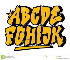 free font designs graffiti alphabet styles