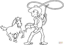 Luxe Kleurplaat Cowboy En Paard Krijg Duizenden Kleurenfotos Van