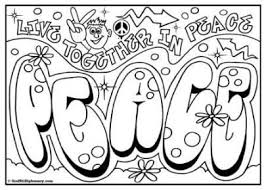 free printables coloring page for kids graffiti coloring page