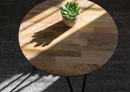 jinya coffee table natural mango iron