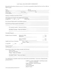 Free Printable Fill In The Blank Resume Templates simple will forms printable Tolgjcmanagementco 100