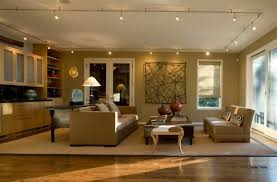 Lighting living room Contemporary Lighting In Multiple Directions Achieved Using Track Lighting In This Living Space Pinterest Shining Spotlight 34 Gorgeous Track Lighting Ideas For The