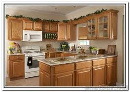 Small Picture Kitchens With White Appliances And Oak Cabinets Oak Kitchen White
