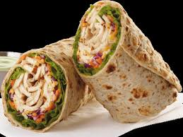 grilled en cool wrap without dressing
