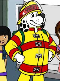 sparky the fire dog. smoky the firedog safety app for kids sparky fire dog
