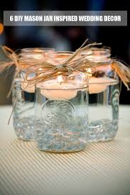 Mason Jar Decorations For A Wedding 100 Ways to Use Mason Jars for Your DIY Weddings Tulle Chantilly 28
