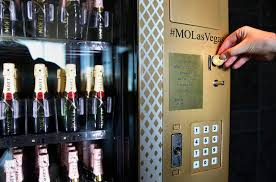 Vending Machine Business Las Vegas Simple Champagne Vending Machine In Las Vegas Is Only One Of Its Kind In