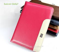 genuine leather high quality tablet case for xiaomi mipad 1 cover shockproof drop dust business flat