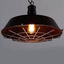 ceiling lights vintage pendant lighting industrial barn light cage antique hanging outdoor fixtures i