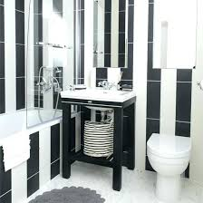 black white striped bath rug and bathroom mat modern furniture likable great tile design i
