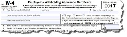 How Do Allowances Affect Withholding April 2017 Strategic Tax Planning Accounting Services