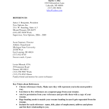 Best Solutions Of Cover Letter Sample Reference List For Resume