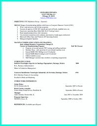 Best Cnc Machinist Resume Template Best Sample Resume Template