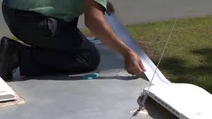 coating your rv roof with dicor s metal roof coating system