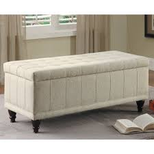 End of Bed Storage Bench | HomesFeed