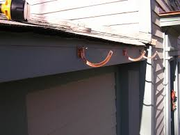 copper gutter installation 9