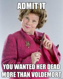 Umbridge Memes via Relatably.com