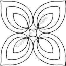 How to make quilting stencils | Quilts | Pinterest | Quilting ... & Continuous Line Quilting Stencils > 7 - 8 Block C.L. - Item: 7 Hosta  Medallion Adamdwight.com