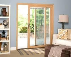 door blinds sliding glass door blinds window blinds wood framed sliding glass door with