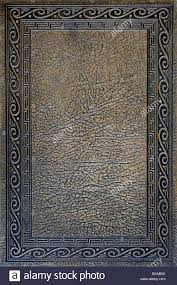 leather bound book cover