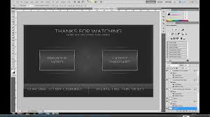 youtube video image size how to create a video outro photoshop tutorial youtube