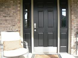black front door with sidelightsBlack Front Doors Ideas  Gloss Black Front Doors  Design Ideas