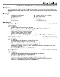 House Cleaner Resume Example Httptopresumehousecleaner Adorable Cleaner Resume
