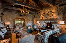 Tuscan Inspired Living Room Awesome Design