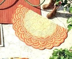 half round rugs semi circular door mat semi circle round rug half in plans within half