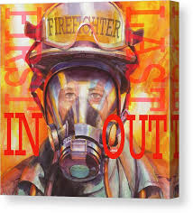 <b>Firefighter Canvas Prints</b> | Fine Art America