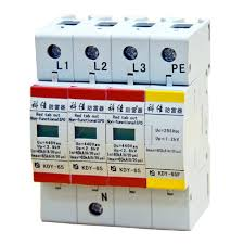 pluggable ac surge protection devices 65ka per phase 8 20µs kdy 65 ac spd 65ka per phase surge protection devices kdy 65 3p 1