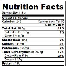 apple pie nutrition facts